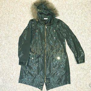 Beautiful Calvin Klein Rain Jacket with hood!
